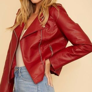 B.B. Dakota just ride Moro jacket in brick red
